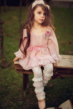this child is absolutely beautiful - Dollcake Clothing - Pink Overload Muslin Dress Fall 2012  for Annabelle