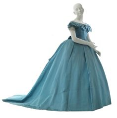 Worth evening dress, 1866-67