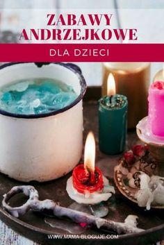 Zabawy Andrzejkowe, Wróżby Andrzejkowe, Andrzejki, dla dzieci Crafts For Teens, Diy For Kids, Kids And Parenting, Birthday Candles, Activities For Kids, Baby Shower, Teaching, Education, Party