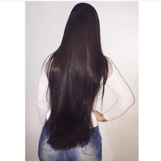 Just click the link for more info on quick Black hairstyles Straight Black Hair, Long Dark Hair, Long Hair With Bangs, Very Long Hair, Quick Black Hairstyles, Pretty Hairstyles, Straight Hairstyles, Hairstyles 2016, Short Hairstyles