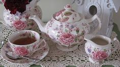 Rose Chintz by Johnson Brothers