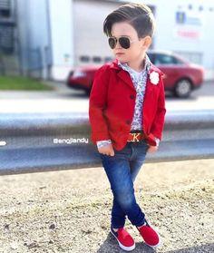 Baby boy fashion style swag hair cut 23 Ideas for 2019 Little Boy Outfits, Little Boy Fashion, Baby Boy Fashion, Baby Boy Outfits, Fashion Kids, Toddler Fashion, Fashion Fashion, Stylish Boy Clothes, Stylish Boys