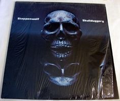 "Steppenwolf ""Skullduggery"" 33RPM Vinyl LP Shrink 1976 Epic AL 34120 #Britpop"