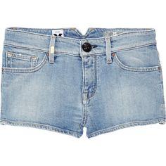 M Missoni Bermuda denim shorts ($83) ❤ liked on Polyvore