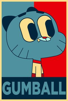 I LOVE THE AMAZING WORLD OF GUMBALL <3