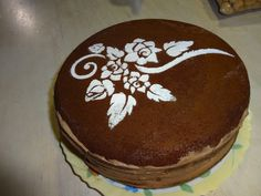 Torta de Chocolate Decorada