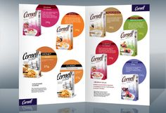 Cereal catalog design