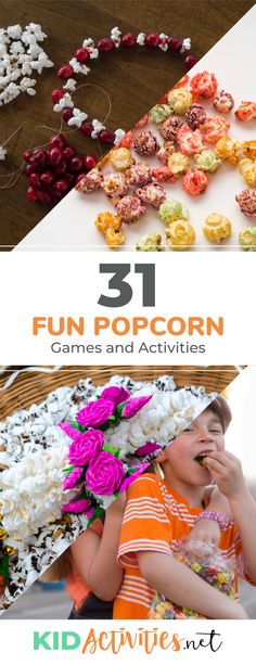 31 Fun Popcorn Games and Activities [Including the Popcorn Toss Game]