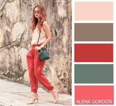 Color-Block Fashion.. by Alena Gordon