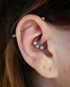 Industrial with daith