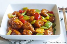 Sweet and Sour Pork | Easy Asian Recipes at RasaMalaysia.com