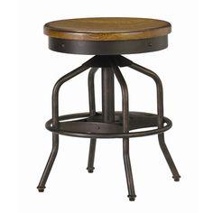 Dutch Farmhouse Industrial Inspired Vintage Looking Bar Stools #vintage #industrial #inspired #rustic #bar_stools