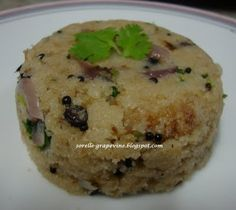 Sorelle Grapevine: Upma (South Indian Style)