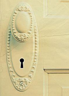Love old doorknobs