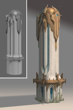 Production designs, paintovers and miscellaneous odds and ends for a cancelled moba project by Epic Games. Environment Concept Art, Environment Design, Fantasy Landscape, Fantasy Art, Buildings Artwork, Pop Art Wallpaper, Building Concept, Skyfall, Matte Painting