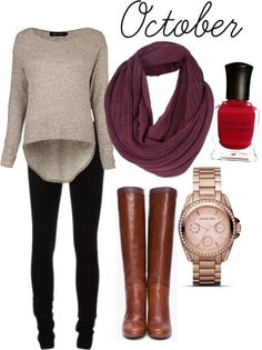 Perfect fall outfit - can't wait till it gets cooler!