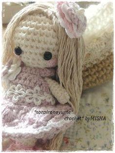 crochet by *soraironoyume* MISHA http://soraironoyumeqmisha.blog.fc2.com/blog-entry-268.html