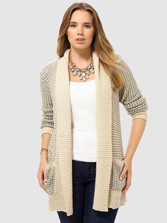 Atwell Cardigan In Ivory