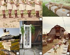 rustic country wedding   ... are so many ways to create your perfect rustic country themed wedding