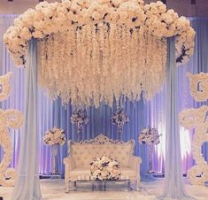 "Indian Wedding Decoration Ideas stage - The center stage becomes the most important area in any marriage. In an Indian wedding, it is called ""Mandap"". wedding ideas Cozy-Chic Wedding Decoration Ideas to Enchant Your Big Day - Momo Zain Wedding Hall Decorations, Wedding Reception Backdrop, Marriage Decoration, Wedding Mandap, Pakistani Wedding Decor, Engagement Stage Decoration, Reception Stage Decor, Indian Wedding Stage, Indian Wedding Receptions"