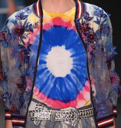 patternprints journal: PATTERNS, PRINTS, TEXTURES AND SURFACES INTO S/S 2017 FASHION COLLECTIONS / NEW YORK 23 - Vivienne Tam