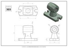 3D CAD EXERCISES 303 - STUDYCADCAM