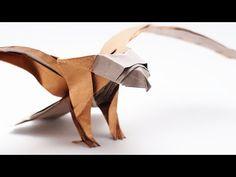 PREVIEW - ORIGAMI AMERICAN EAGLE v2 (Jo Nakashima) - Time-lapse - YouTube