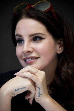 Lana Del Rey at the Big Eyes press conference