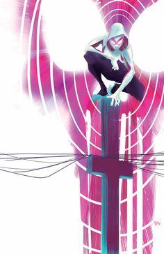 Spider-Gwen by Robbie Rodriguez