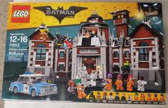 LEGO The Batman Movie Arkham Asylum Set 70912 - New Sealed NIB...