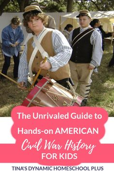 The Unrivaled Guide to Hands-on American Civil War History for Kids. Hands-on activities for kids to learn about the Civil War. Learning through fun activities for kids makes history meaningful… History For Kids, Us History, Fun Activities For Kids, Hands On Activities, American Civil War, American History, Civil War Activities, Us Geography