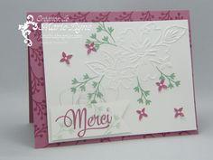 Tendresse florale de Stampin'UP! avec Amour et affection. Visitez http://jardindepapier.com/tendresse-florale-stampinup pour tous les détails.