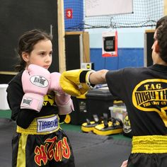 Gotta love the concentration and intensity of TAG's young lady!  Heartbreaker and a bone breaker!  Visit tagmuaythai.com and follow us @tagmuaythai #muaythai #thaiboxing #kidsmma #kidsmartialarts #tagmuaythai #chicsrule #girlpower