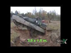 Fantasztikus! Leopard 2 tank vs harckocsi árok