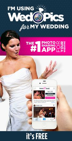We're using WedPics - The #1 Photo & Video Sharing App for Weddings (FREE)!