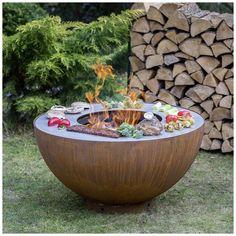 Barbacoa Jardin, Fireplace Design, Grilling, Bbq, Villa, House Design, Outdoor Decor, Outdoor Fire, Week End