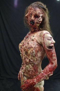 The Face of Fear. Amazing Makeup FX work by Kelly Odell. Model: Suzi Cumming. Photographer: Rick Jones. Assistant: Jemma Swinfield.