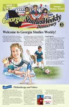 16 best studies weekly images on pinterest fun learning teaching georgia third grade social studies fandeluxe Image collections