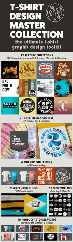 As t-shirt designers, we need to use the right tools to save time and get top quality results. This is the Ultimate T-Shirt Graphic Design Toolkit.