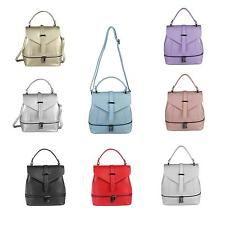 ITAL Custodia in pelle da donna 2in1 Zaino a tracolla Borsetta Crossbag Daypack: EUR 79,95End Date: 10-set 15:37Buy It Now for only: US EUR…