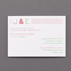 Momentous Expressions Invitation - Wedding Invitations - Wedding Invites - Wedding Invitation Ideas - View a Proof Online - #weddings #wedding #invitations