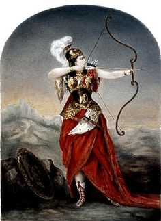 Anachronistic depiction of Queen Penthesilea