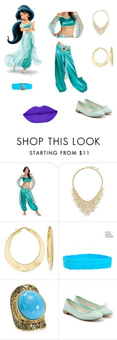 """""""Jasmine 🎶"""" by angel-barbara ❤ liked on Polyvore featuring BERRICLE, Ross-Simons, Aéropostale, Aqua and Repetto"""
