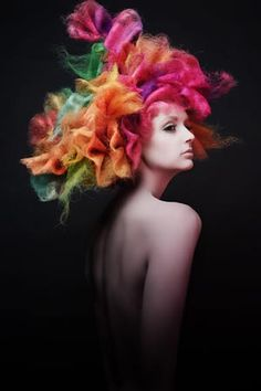 Best Huge Avant Garde Hair Styles That Are Absolutely Sensational – ZygoStyle Naha, Love Hair, Big Hair, Short Hair, Creative Hairstyles, Cool Hairstyles, Hairstyles 2018, Avant Garde Hairstyles, Angelo Seminara