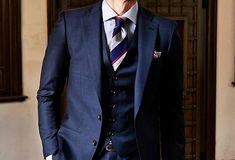 定番のネイビースーツの魅力!-ネクタイの合わせ方と着こなしー – ENJOY ORDER!MAGAZINE