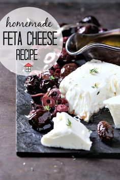 Make your very own homemade feta cheese, without a kit even! It's not nearly as hard as it seems and the results are oh-so-delicious! Wow your friends! Homemade Feta Cheese Recipe, Feta Cheese Recipes, Frugal Meals, Budget Meals, Easy Meals, Budget Recipes, Cheesy Recipes, New Recipes, Save On Foods