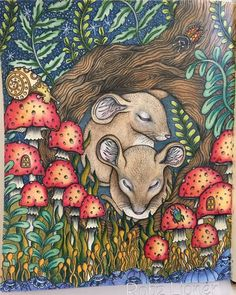 Inspirational Coloring Pages by Robz Lipner #inspiração #coloringbooks #livrosdecolorir #adultcoloring #Hannakarlzon #dragdömmar