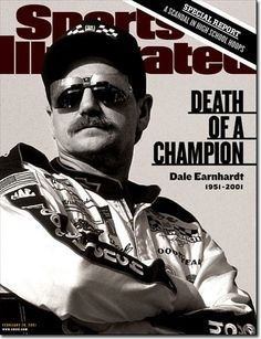 On the Cover: Dale Earnhardt, Auto Racing,  Photographed by: George Tiedmann