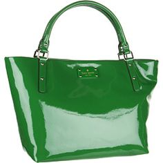 my next bag needs to be green.  kate spade sophie