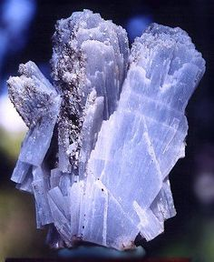 Also known as Angelite, used for contacting the Angelic Realm along with some various other crystals, Celestite, Mangano Calcite and Seraphinite are a few of the crystals used for Angelic Communication. Angelite A stone of heightened awareness, with special focus on peace and brotherhood. It is used to facilitate contact with angels.